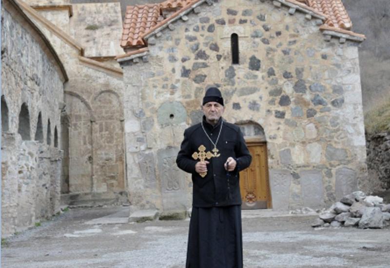 Священник православной Албано-удинской церкви назначен проповедником монастыря Худаванг