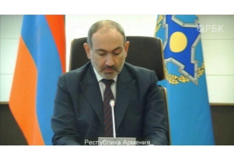 «КоммерсантЪ» высмеял Пашиняна за конфуз перед Путиным