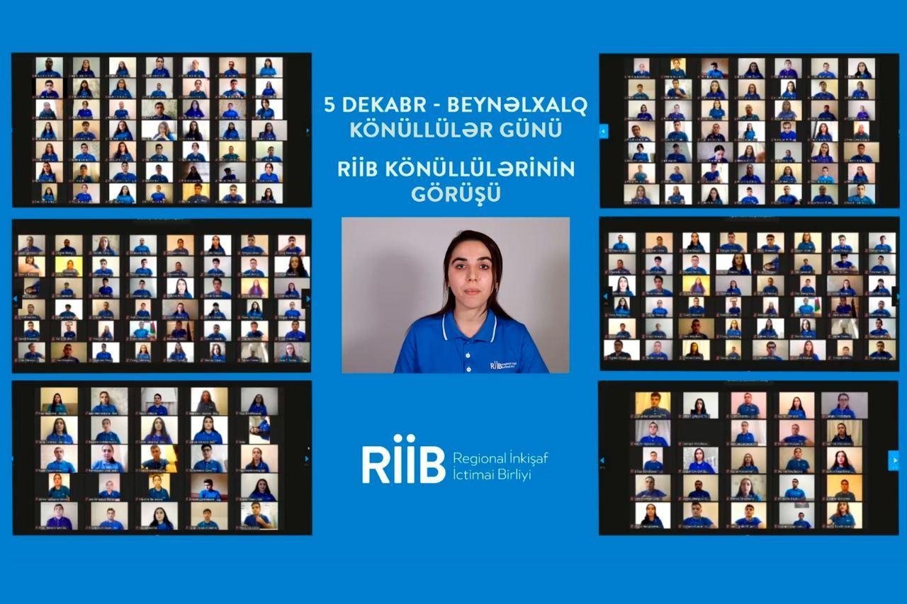 Состоялась онлайн-встреча Общественного объединения «Региональное развитие» с волонтерами Азербайджана