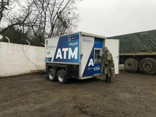 В освобожденном Гадруте установлен первый азербайджанский банкомат