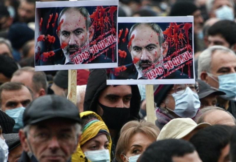 Протесты в Армении проходят под новым лозунгом