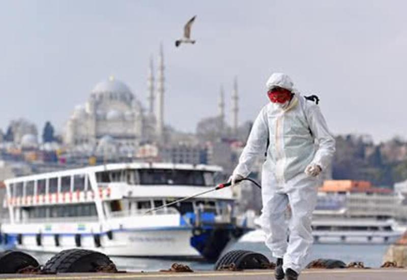 В Турции за последние 24 часа жертвами коронавируса стали 97 человек