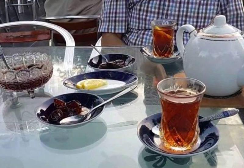 В Саатлы чайный дом работал в нарушение карантина