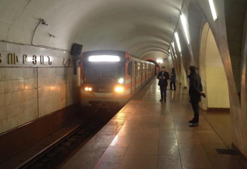 В Ереване протестующие парализовали работу метро