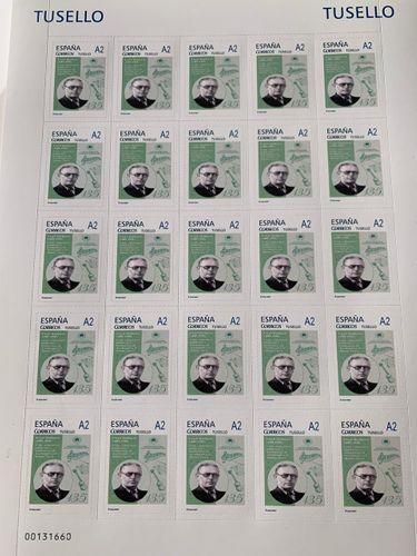 В Испании выпущены почтовые марки по случаю 135-летия Узеира Гаджибейли