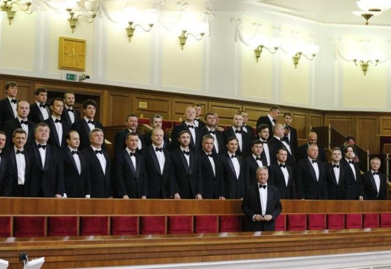 """Украинцы исполнили азербайджанские народные песни """"Ağacda alma"""" и """"Sarı gəlin"""""""