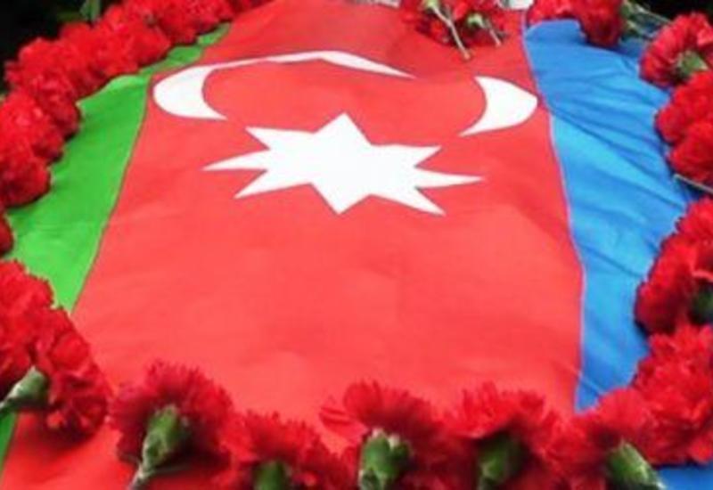 Ставший вчера шехидом офицер ГПС похоронен в Гяндже