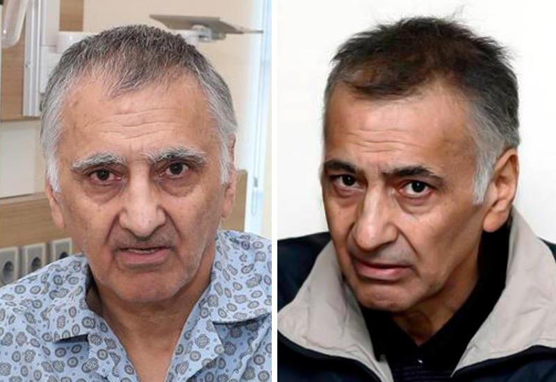 Дильгам Аскеров и Шахбаз Гулиев до и после армянского плена