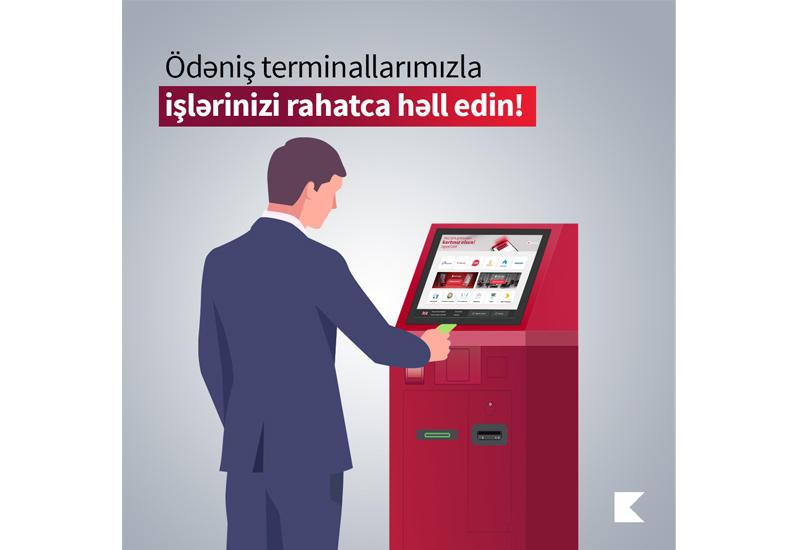 Kapital Bank устанавливает по всей стране платежные терминалы нового поколения (R)