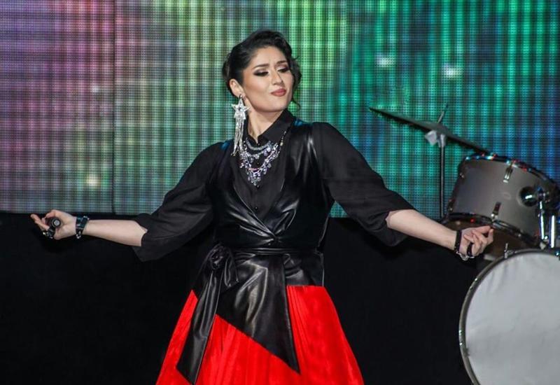 Азербайджанская певица победила на конкурсе в Казахстане