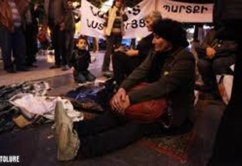 В Армении анонсировали бессрочную сидячую забастовку