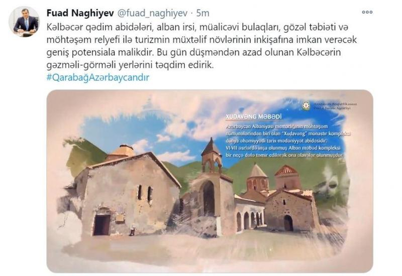Живописные уголки освобожденного от оккупации Кельбаджарского района