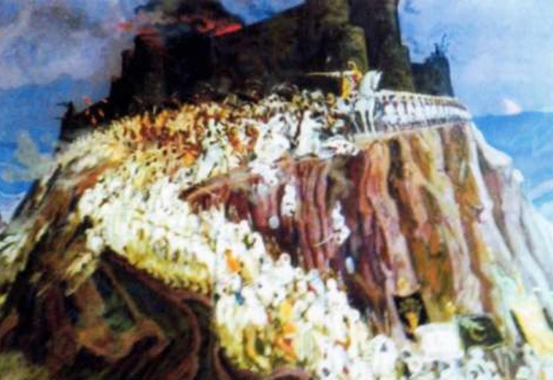 Таинственная крепость Баллабур в Лянкяране