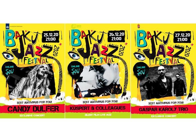 Бакинский джаз-фестиваль в 2020 году пройдет в онлайн-формате