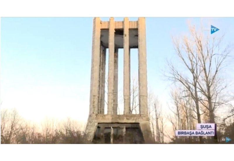 Армяне разрушили мавзолей Моллы Панаха Вагифа в Шуше
