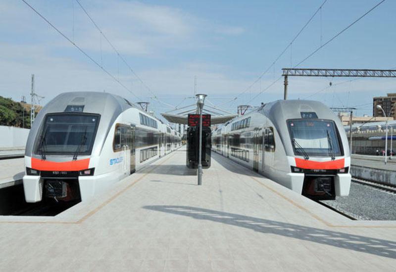 Поезда Баку-Сумгайыт будут работать и в выходные