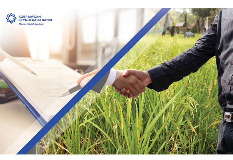 В этом году Международный Банк Азербайджана обеспечил самозанятость 55 семей (R)