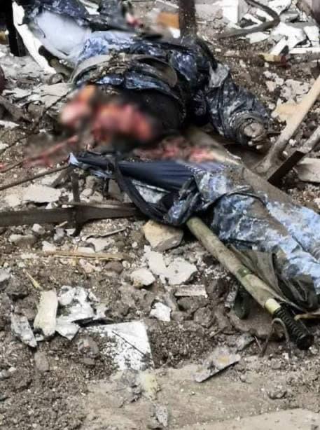 Ликвидированные офицеры армянской армии в Шуше