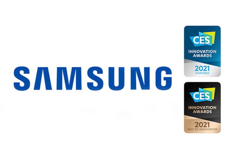 Samsung был удостоен 44 наград в разных категориях на CES 2021