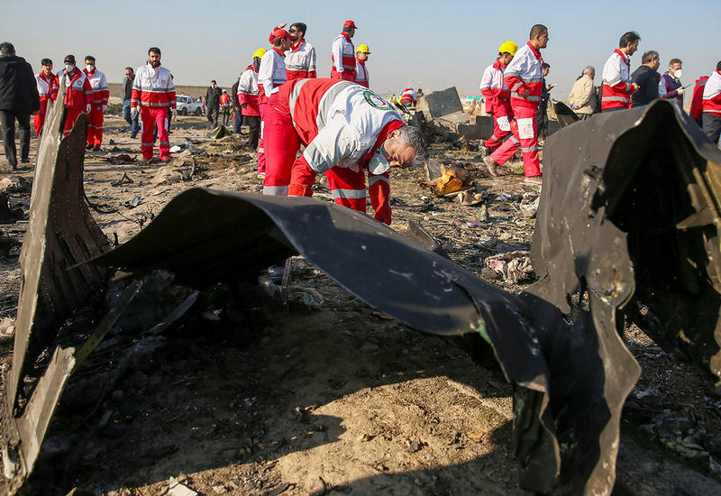 Расследование авиакатастрофы с украинским Boeing в Иране завершено