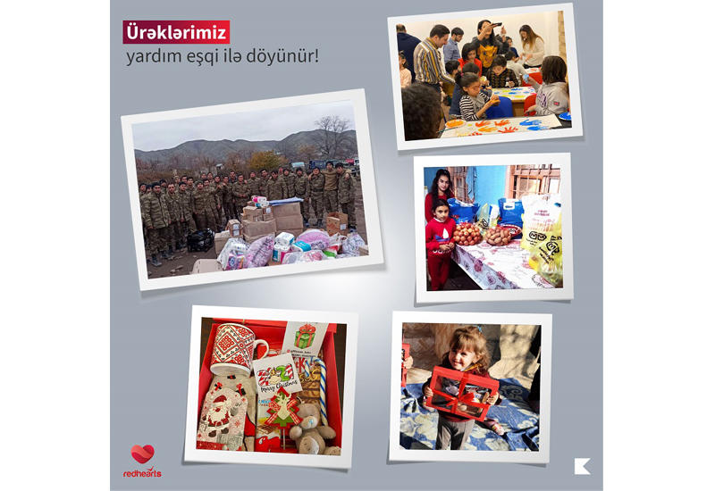 Волонтеры «Red Hearts» порадовали детей шехидов накануне праздника