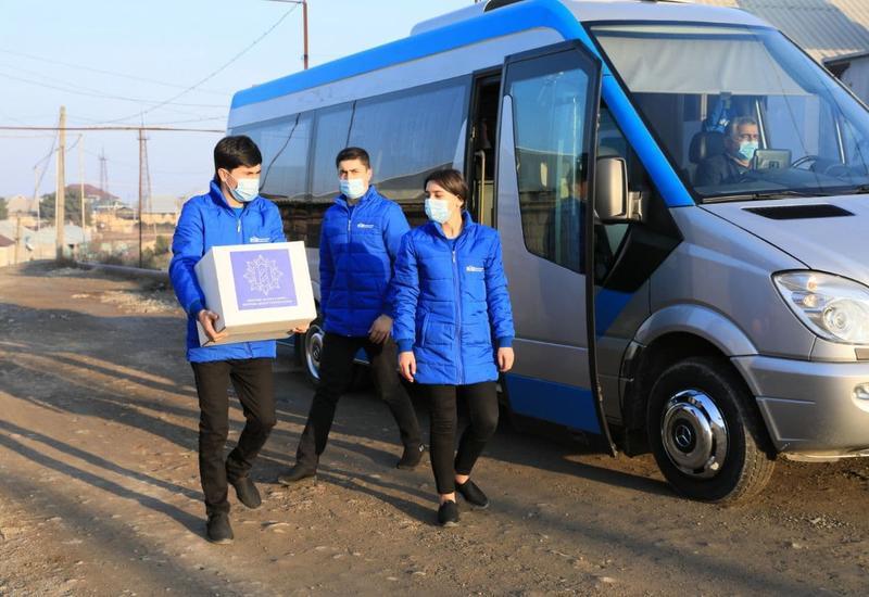 Фонд Гейдара Алиева передал праздничные посылки почти 100 тысячам семей