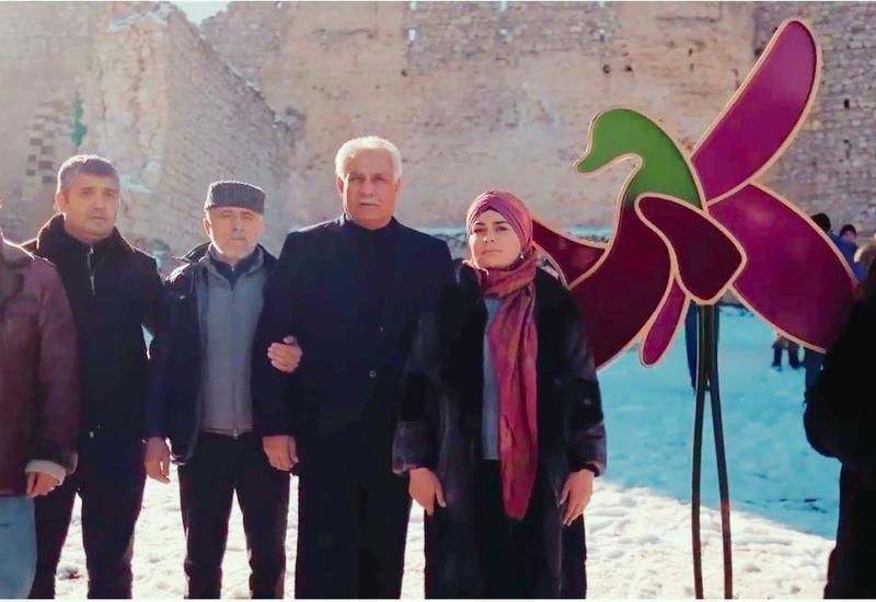 В освобождённой Шуше снят первый клип с участием Алима Гасымова, Нураддина Мехтиханлы и Чингиза Мустафаева