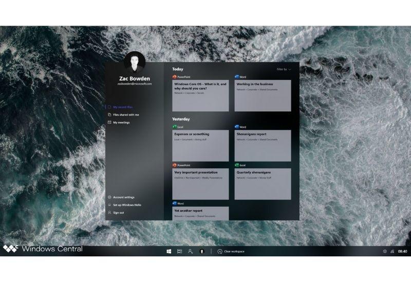 Windows Core OS просочилась в Сеть