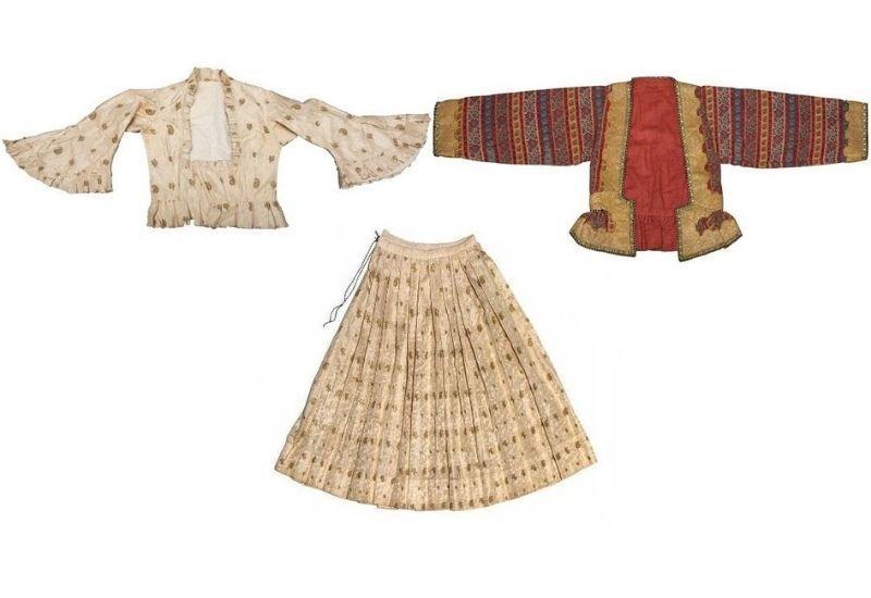 Редкие экспонаты Карабахской одежды