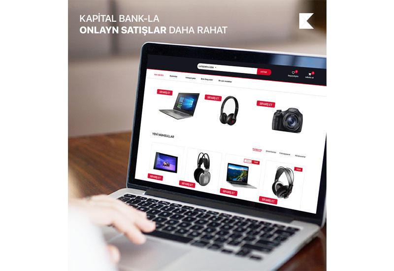 Kapital Bank помогает предпринимателям открыть интернет-магазин