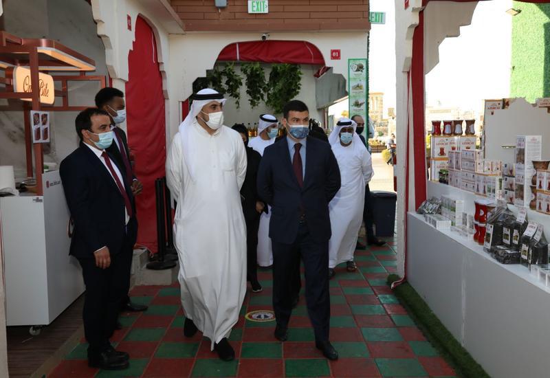 Азербайджанская продукция на международной ярмарке в Дубае