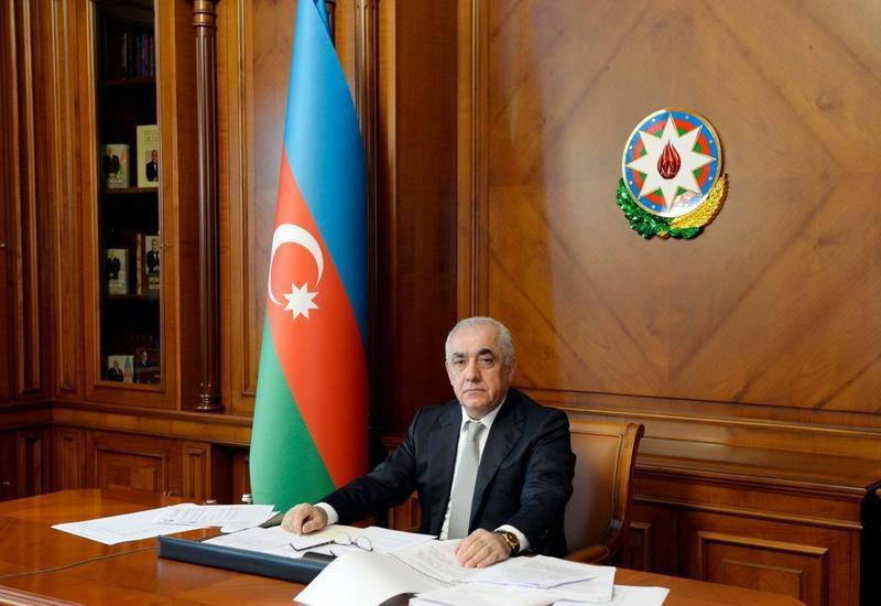 Али Асадов подписал распоряжение о ремонте и реставрации объектов, поврежденных в ходе Отечественной войны