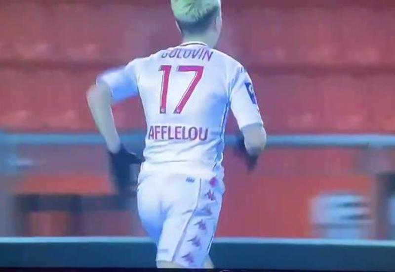 Игрок Монако забил гол спустя 10 секунд после выхода на поле