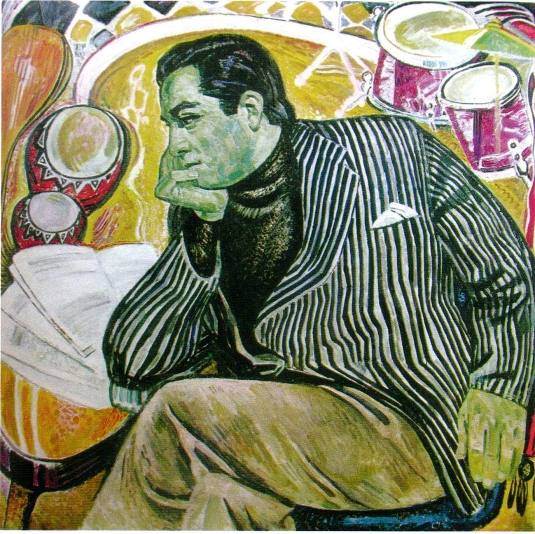 Абшерон и знаменитости в работах народного художника Азербайджана