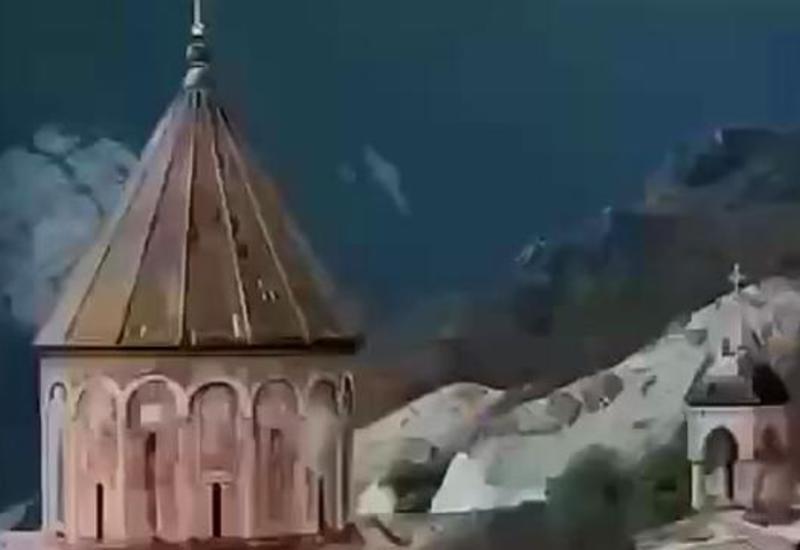 Новые кадры монастыря Худавенг