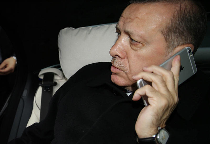Эрдоган отказался от WhatsApp
