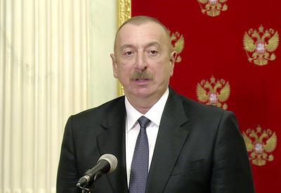 Президент Ильхам Алиев: Нагорно-карабахский конфликт остался в прошлом, и мы должны думать о будущем