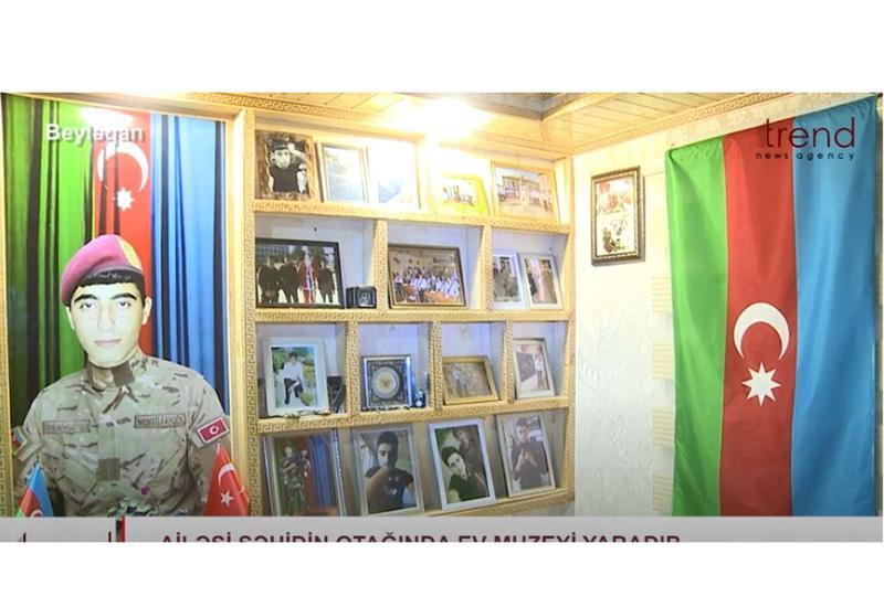 Семья шехида создала музей о его подвигах