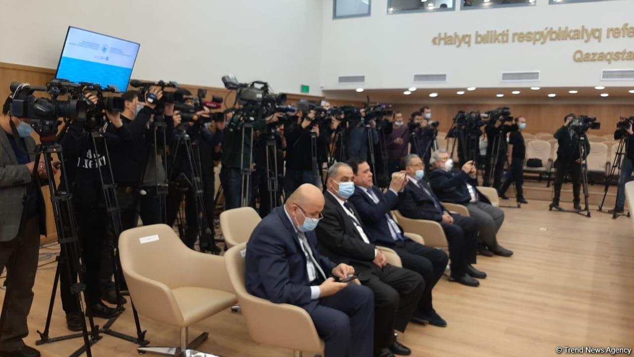 """На парламентских выборах в Казахстане лидирует партия """"Нур Отан"""""""