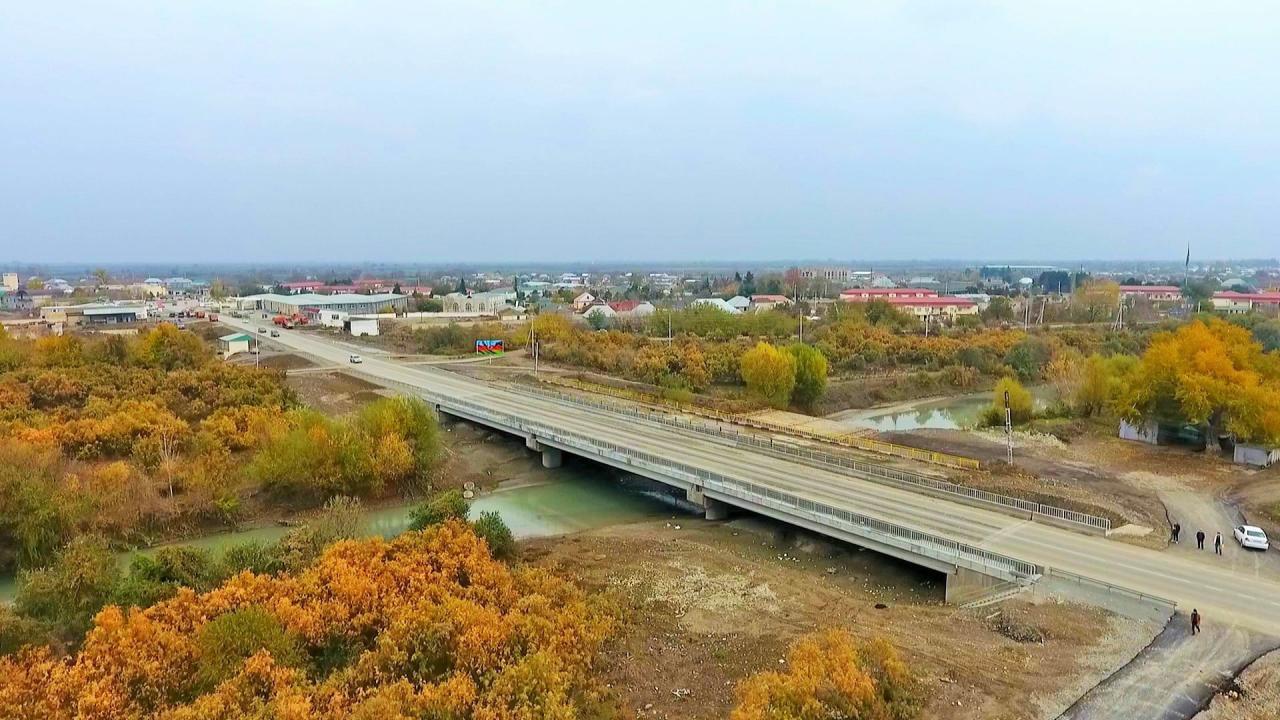 Еще одна дорога в Азербайджане отремонтирована