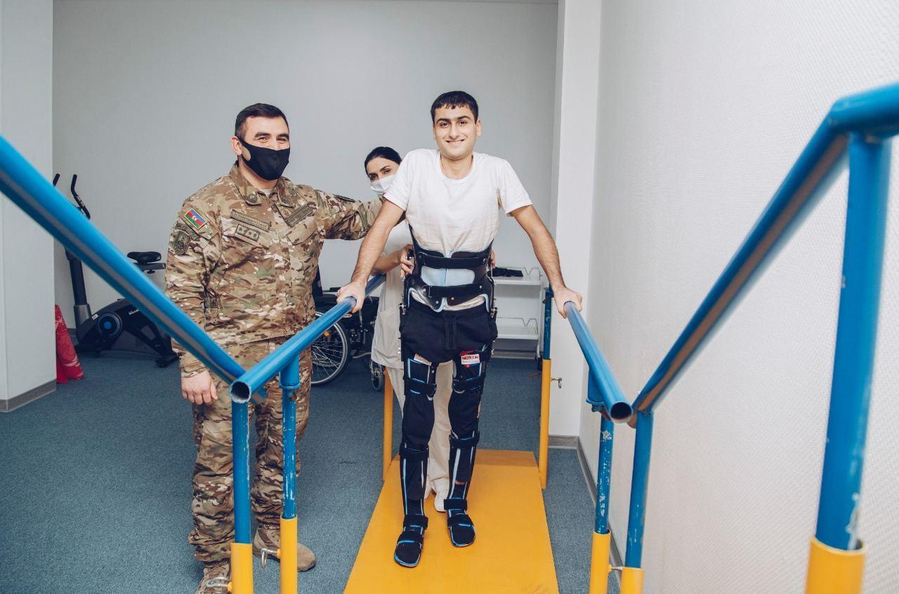 """Лечение раненых участников Отечественной войны находится под полным контролем Фонда """"YAŞAT"""""""