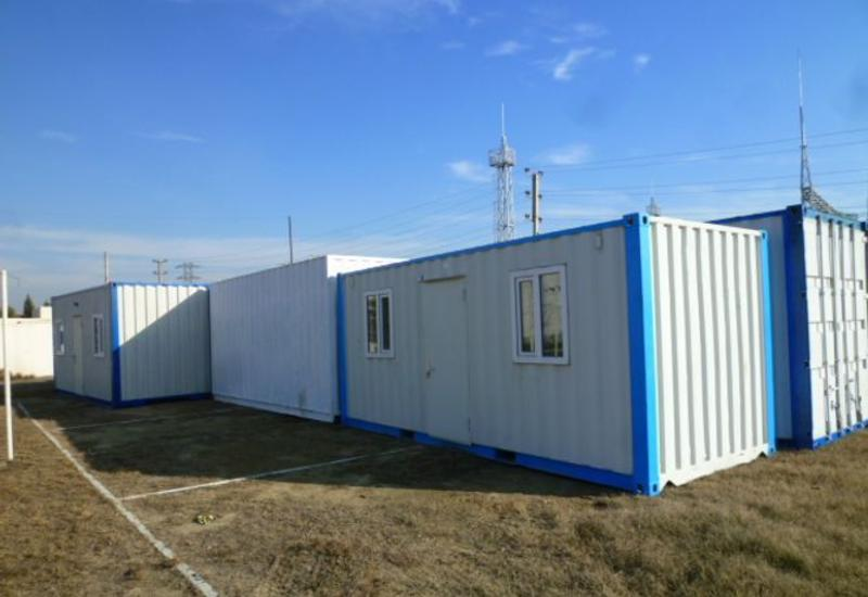 Россия отправила МЧС Азербайджана 15 мобильных контейнеров для использования в полевых условиях