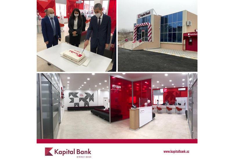 Kapital Bank обновил филиал в Ордубаде (R)