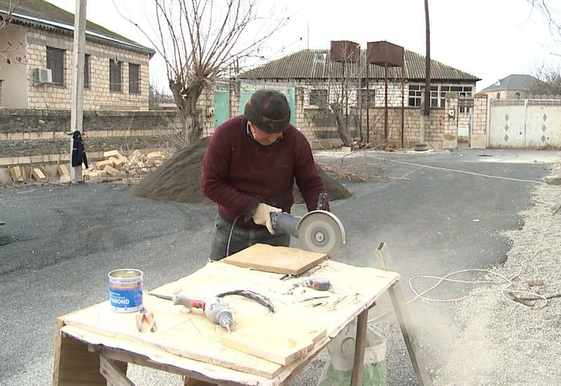 В Тертере восстанавливаются разрушенные армянами территории