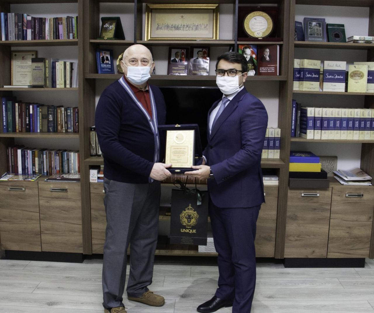 Награждены руководители религиозно-этнических общин Азербайджана