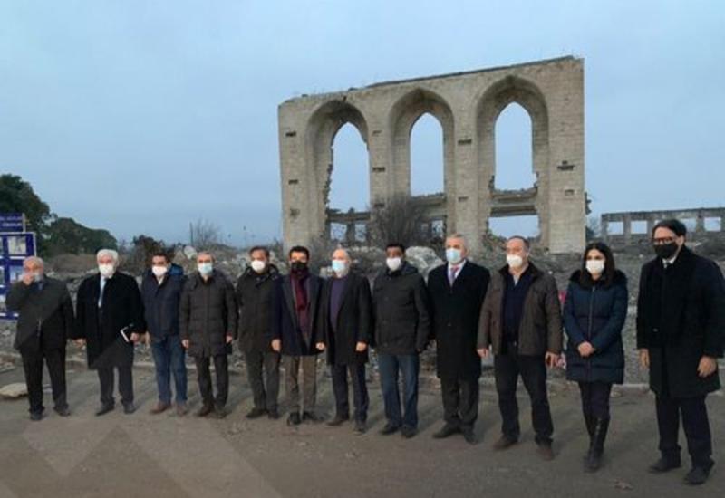 Делегация ICESCO побывала в освобожденном Карабахе