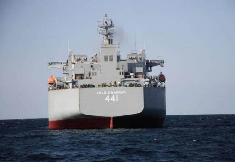 Иран представил самый крупный в истории своих ВМС боевой корабль