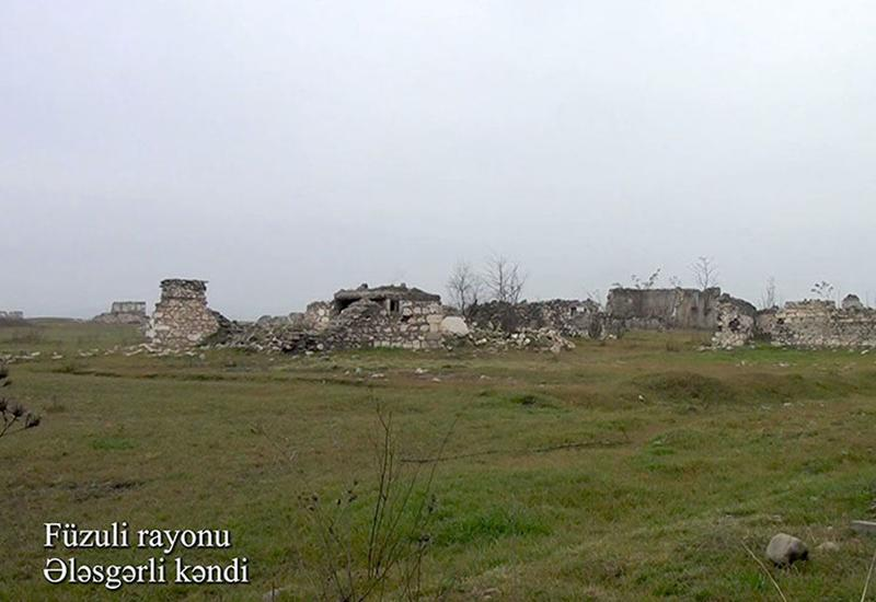 Село Алескерли Физулинского района