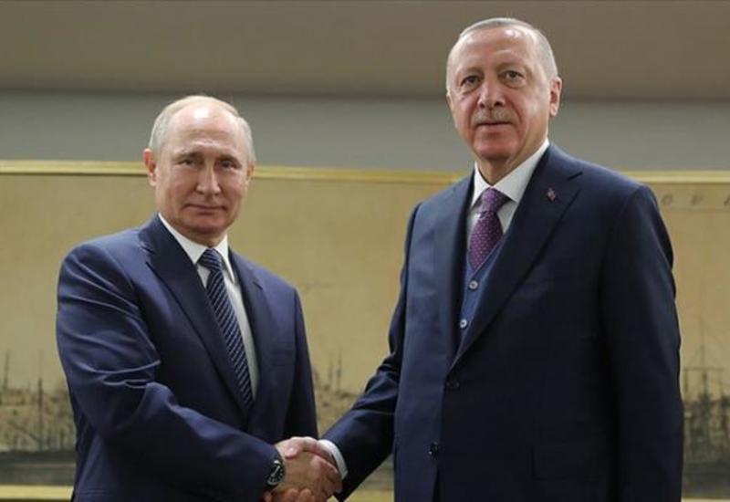 Путин заявил, что российско-турецкие переговоры идут иногда непросто