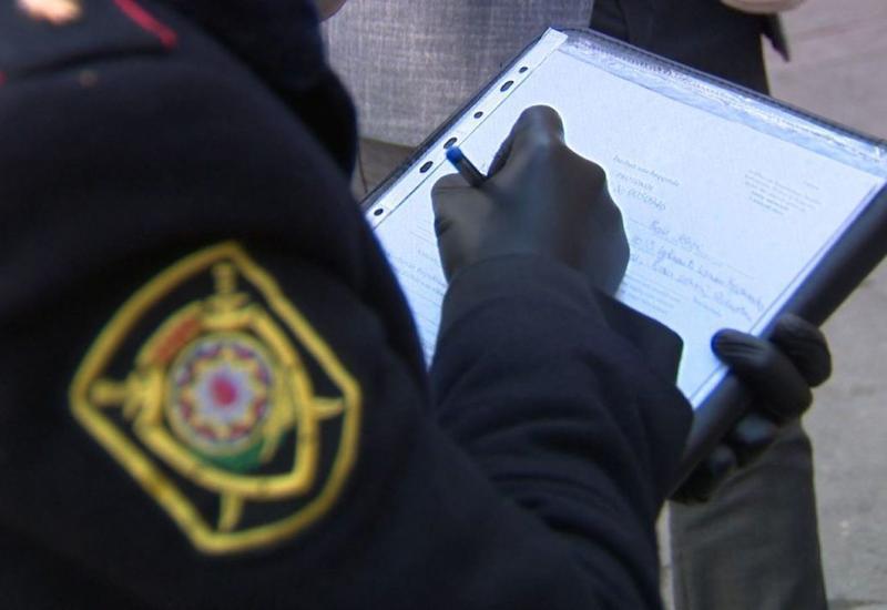 За нарушение карантина вчера были арестованы 3, оштрафованы 2815 человек